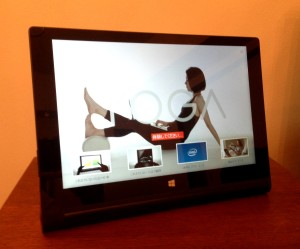 yoga tablet 2-10 with windows 本体
