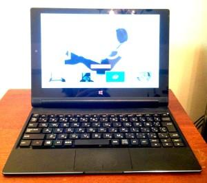 yoga tablet 2-10 with windows 本体キーボード装着